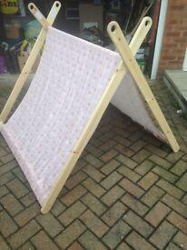 Large foldable tent wigwam