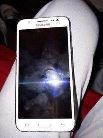 Samsung galaxy screen faulty