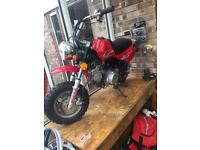 Lifan lf70 monkey bike not Honda dax or z50