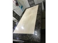 Harvey Patra Marble Dinning Tables with 6 chairs - Good Condition
