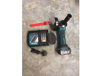 "Makita dga452 cordless angle grinder 115mm 4 1/2"" cutter ankle"