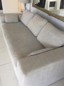 Used Grey Habitat 3 seater sofa