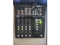 Alto ZMX862 Compact Mixer For Live / Studio Use 6-Channel Mixing Desk RRP £70 Condition Like New