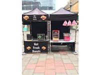 Donuts, Popcorn & Candy Floss Business