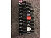 Gel nail kit, 20 colours, lamp and extras