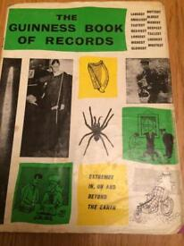Vintage Guinness book of records