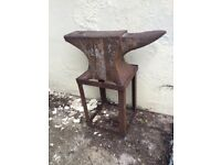Vintage Anvil and Stand £250