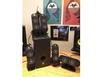 Logitech X-530 5.1 Surround sound Speakers for Home and PC