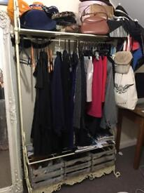 Wardrobe - clothes rack - clothes hanger
