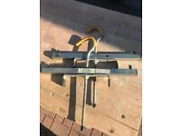 Ladder rack clamps for vehicle - set of 2.