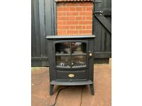 Dimplex BFD20R electric fire, looks like wood burner, 5 years old
