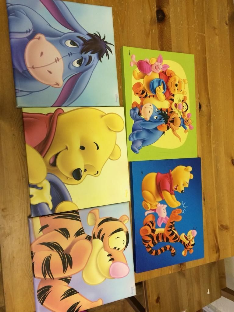 Unique Winnie The Pooh Canvas Wall Art Photo - Art & Wall Decor ...