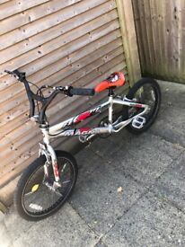 Freestyle bmx style bike