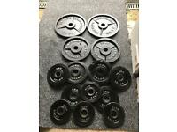 120KG OLYMPIC METAL WEIGHT PLATES