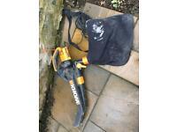 Worx leaf blower / garden vacuum