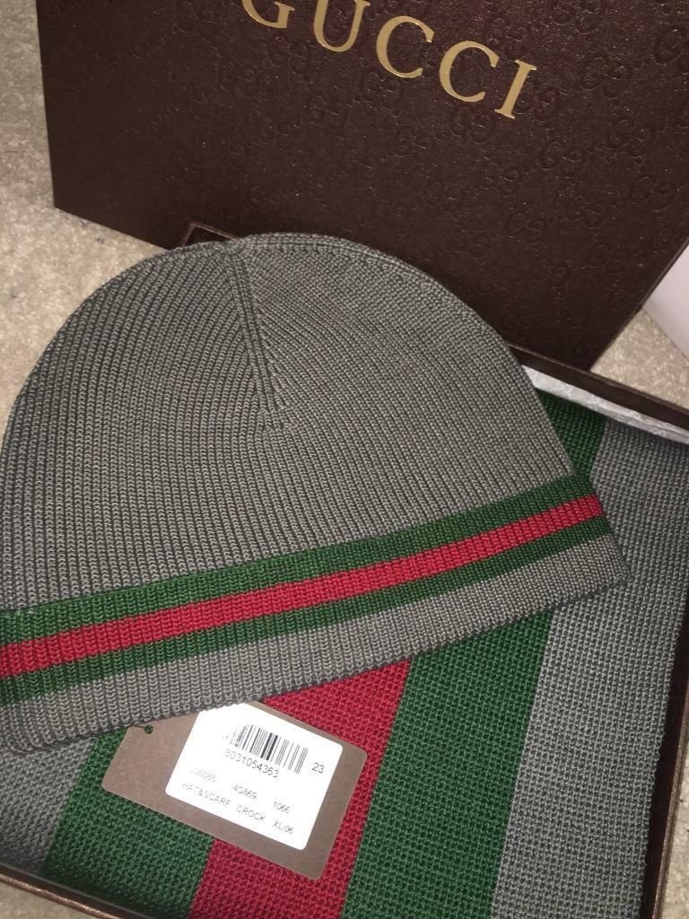 Gucci Hat and Scarf Winter Set  e1f0d568a11