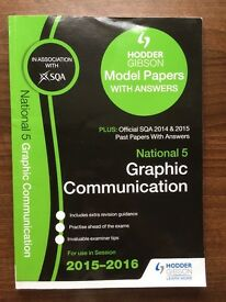 Model papers for Graphic Communication (National 5)