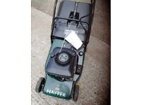 Hayter harrier 48 electric start lawnmower