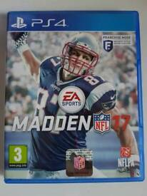 Madden 17 PS4 game