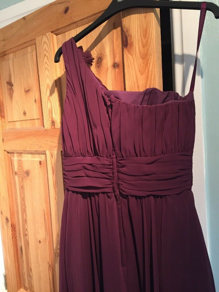 Aubergine bridesmaid dress | in East End, Glasgow | Gumtree