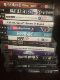 Big bundle of PS3 games BARGAIN!!!!