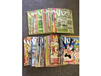 Viz Comics Mags Vintage Retro Adult Humour early numbers 34 onwards 67 in total
