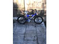 """BOYS CONCEPT NO FEAR BIKE, 18"""" WHEELS, GOOD CONDITION AND FULLY WORKING"""