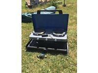 Coleman Xcelerate 400 ST gas cooker and grill