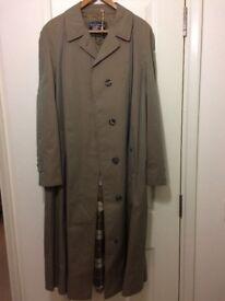Vintage women's Burberry trench coat