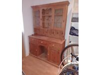 Large Solid Oak Dresser