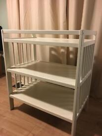 Ikea Gulliver Baby Changing Table - White