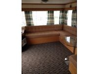 6/7 BERTH STATIC CARAVAN QUIET PARK PERRANPORTH CORNWALL AVAIABLE FOR HOLIDAYS OR SHORT LET
