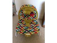Mamas and papas bouncing rocker vibrating chair