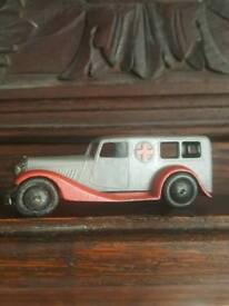Very old dinky diecast toy , meccano ambulance