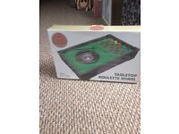 Brand new in box Table Top Roulette