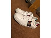 Gucci trainers size 10/11 £90