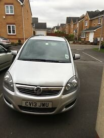 Vauxhall Zafira, one owner from new