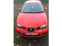 Seat Ibiza sport 1.4, good condition & well maintained. Fully serviced & MOT due Nov 2017