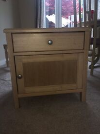 Light wood cabinet