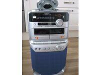 Goodmans Karaoke System - CD, Cassette and Tuner