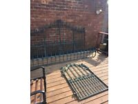 Full House Set Up Of Top Quality Galvanised Bi-folding Gates Railings- delivery available