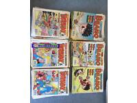 200+ Dandy and Beano Comics in Good Condition