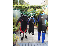 Used diving gear