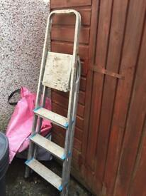 Folding Metal Ladder, Light but Solid, only £10