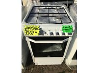INDESIT 50CM BRAND NEW ALL GAS COOKER