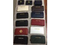 NEW Michael Kors MK ziparound purse wallets
