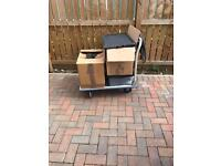 Parcel / removal trolley