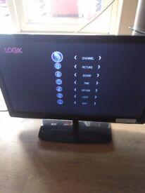 """Logik 22"""" L.E.D hdmi tv"""