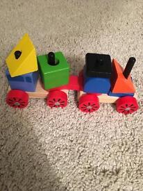 Child's wooden toy