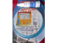 25meter by 9mm oval lead window kits unopened